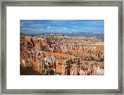 Sandstone Hoodoos Framed Print by Jim West