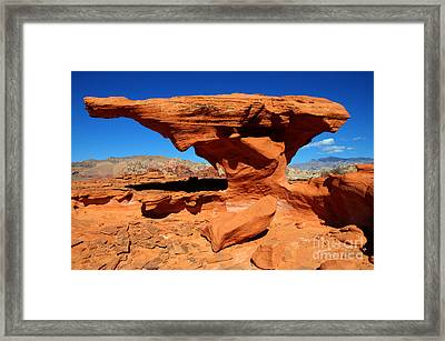 Sandstone Landscape Framed Print by Bob Christopher