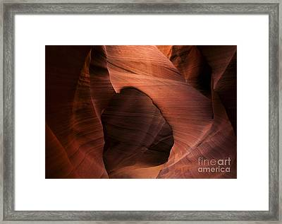 Sandstone Window Framed Print