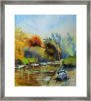 Sandwich Kent The Stour Framed Print