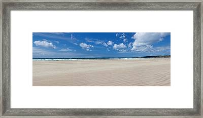 Sandy Beach, Finistere, Brittany, France Framed Print by Panoramic Images