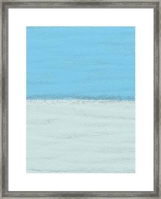 Sandy Beach Framed Print by Len YewHeng