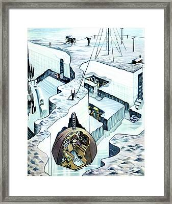 Sandy Glen's Arctic Expedition Framed Print