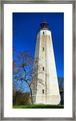Sandy Hook Lighthouse Framed Print by Olivier Le Queinec