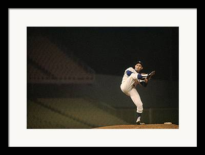 Cy Young Photographs Framed Prints