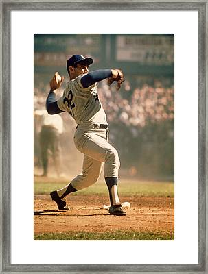 Sandy Koufax  Framed Print by Retro Images Archive