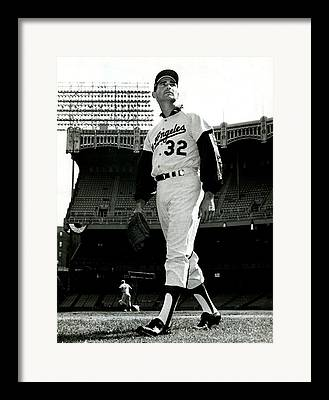 Sandy Koufax Framed Prints