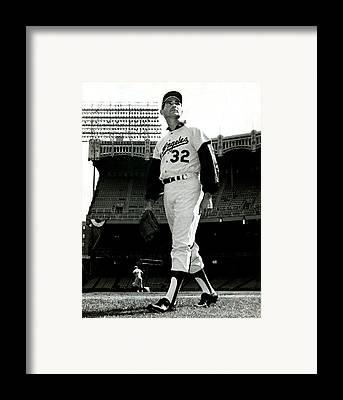 Los Angeles Dodgers Framed Prints