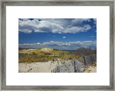 Sandy Neck Beach Framed Print
