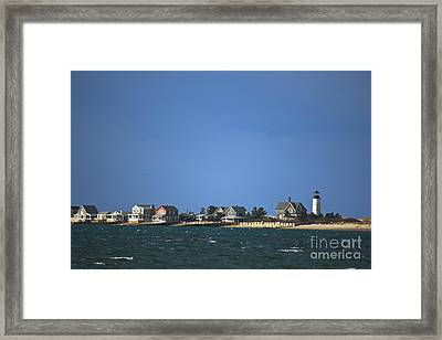 Sandy Neck Light Framed Print