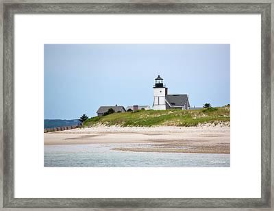 Sandy Neck Lighthouse Barnstable Cape Cod Massachusetts Framed Print
