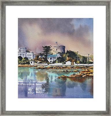 Sandycove Framed Print