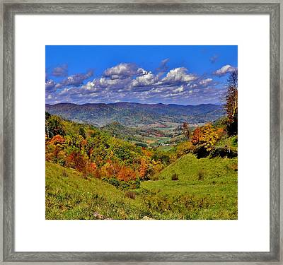 Sandymush Valley Framed Print