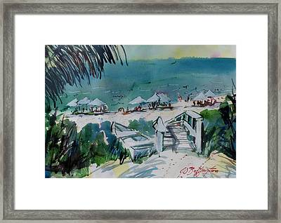 Sanibel Beach  Framed Print