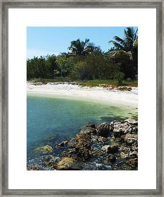 Sanibel Cove Framed Print