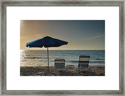 Sanibel Ease I Framed Print by Steven Ainsworth
