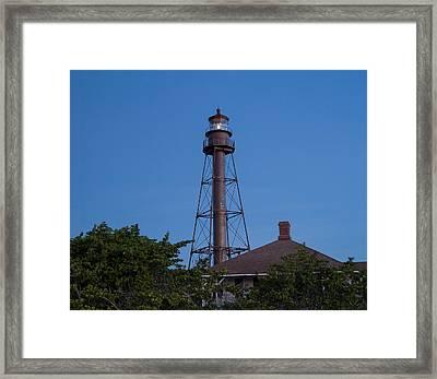 Sanibel Island Lighthouse Framed Print by Kim Hojnacki