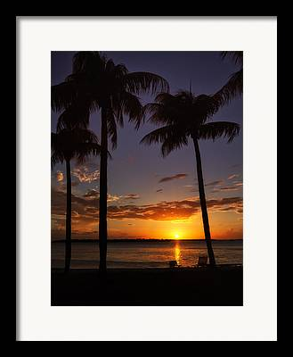 Southwest Florida Sunset Framed Prints