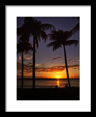 Southwest Florida Sunset Framed Prints