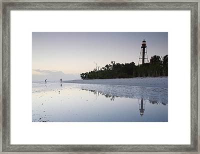 Sanibel Lighthouse II Framed Print