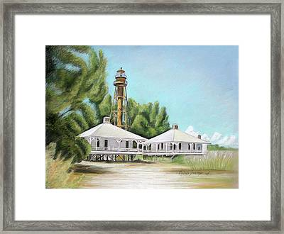 Sanibel Lighthouse Framed Print