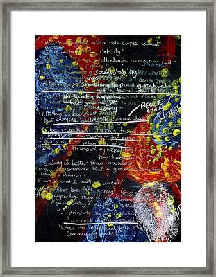 Sanity Framed Print by Lauren Caldwell