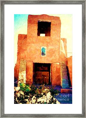 Sanmiguel Framed Print by Desiree Paquette