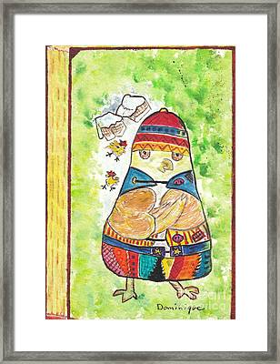 Sans-abri / Homeless Framed Print by Dominique Fortier