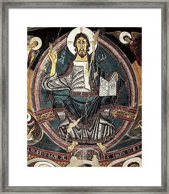 Sant Climent De Ta�ll, Master Of 12th Framed Print by Everett