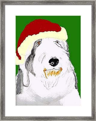 Santa Bailey Framed Print