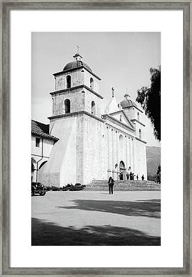 Framed Print featuring the painting Santa Barbara, 1936 by Granger