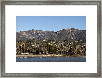 Santa Barbara Framed Print by Carol M Highsmith