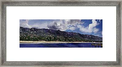 Santa Barbara Panorama Framed Print