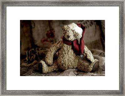 Santa Bear Framed Print