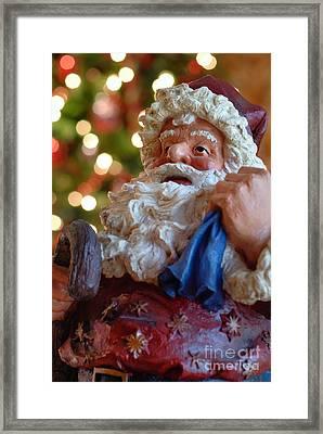Santa Claus Framed Print by Amy Cicconi