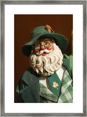 Santa Claus - Antique Ornament - 23 Framed Print by Jill Reger