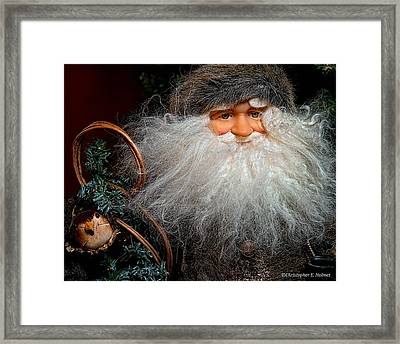 Santa Claus Framed Print by Christopher Holmes