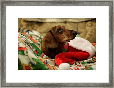 Santa Claus Framed Print