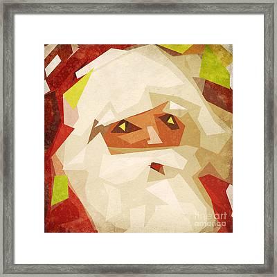 Santa Claus Framed Print by Setsiri Silapasuwanchai