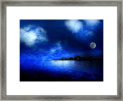 Santa Cruz Evening 2 Framed Print by Cary Shapiro