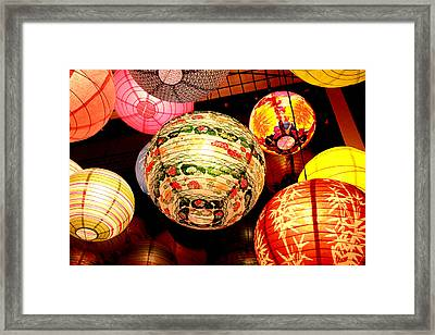 Santa Cruz Lights Framed Print