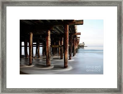 Santa Cruz Pier California Framed Print by Bob Christopher