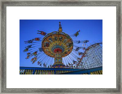 Santa Cruz Seaswing And Giant Dipper 2 Framed Print by Scott Campbell