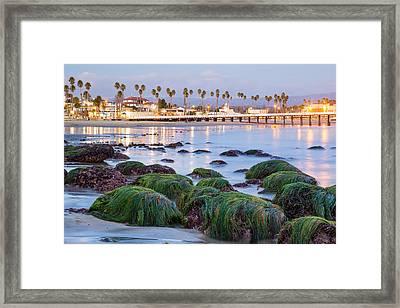 Santa Cruz Twilight Framed Print by Adam Pender