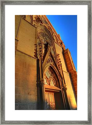 Santa Fe Church Framed Print