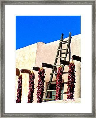 Santa Fe Classic Framed Print