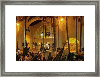 Santa Fe Depot- San Diego Framed Print by See My  Photos