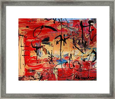 Divertimento No.21 - Santa Fe Framed Print