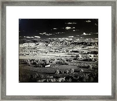 Santa Fe In New Mexico Framed Print