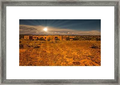 Santa Fe Landscape Framed Print